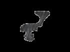 Joint Etanchéité Caoutchouc NBR Profil couronne avec ressort